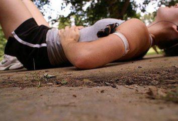 Warum verletzt die rechte Seite unter dem Rand beim Laufen?