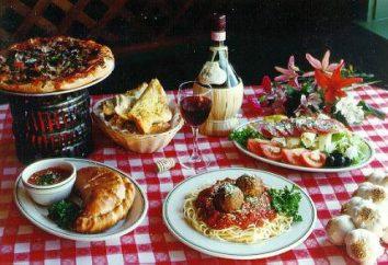cozinha italiana impressionante e colorido