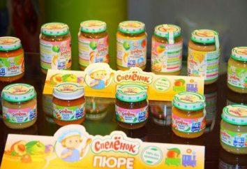 """Dziecko puree """"Spelonok"""": opinie, skład gatunkowy i producent"""