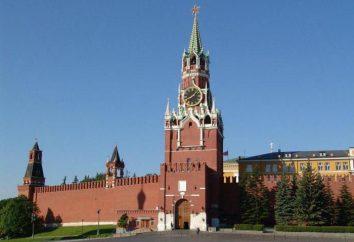 O relógio na Spassky torre do Kremlin: A história e fotos
