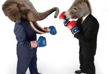 Politische Partei – es ist ein wichtiger Teil des politischen Systems des Landes