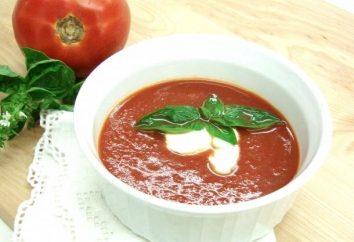 Zupa aromatyczna z pomidorów: oryginalne przepisy