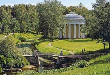 Pavlovsk parco vicino a San Pietroburgo