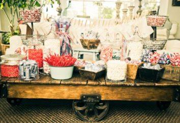 Słodki stół do ślubu: że stosuje i jak ozdobić