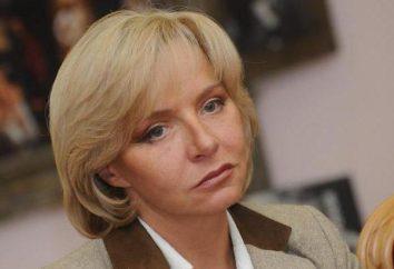 Elena Ulyanova, córka Michaił Uljanow: biografia i zdjęcia
