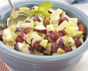 Salat mit Äpfeln: leckere Rezepte