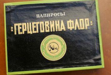 """La famosa sigaretta """"Erzegovina Flor"""" e perché sono così chiamati"""