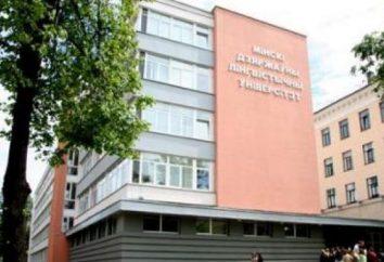 Minsk Universidad Estatal Lingüística (Universidad Estatal de Moscú lingüística) sitio web oficial, puntajes de aprobación y revisión