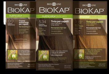 Biokap. Pintura para cabelos, comentários e descrição