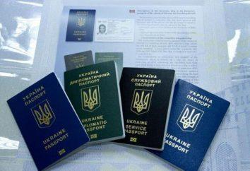 Ukraiński paszport: dokumenty do uzyskania i przywracania. Paszport nowej próbki Ukrainie