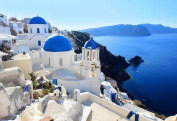 La zone de la Grèce. Capitale de la Grèce. Informations générales sur le pays