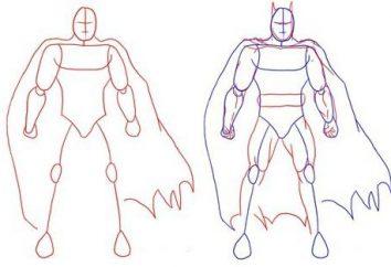 Jak narysować Batman piękne?