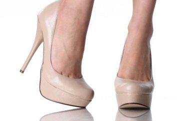 Beżowe buty na wysokim obcasie są absolutnie wszystko