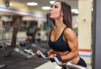 exercices barbell: tirer au menton et les types de prise en main