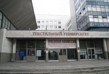 Instytut włókienniczy. Kosygin. MSTU. Kosygin: Adres