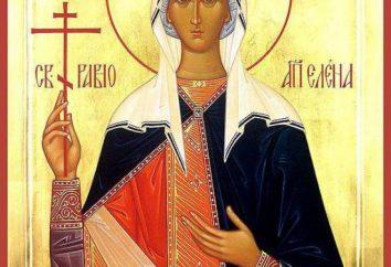 Elena Pari agli Apostoli: la vita, la chiesa venerazione. St Constantine e Elena
