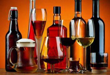 Un peu d'alcool à boire pour la perte de poids? Que choisir?