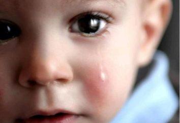 Gdy istnieją łzy u noworodków? Normy i odchylenia
