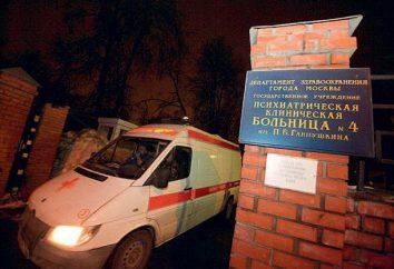 Gannushkina Hospital: Onde está? Comentários e fotos