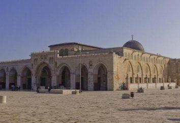 """Al-Aqsa – """"Seclusion Moschee"""" Beschreibung und Geschichte der Kirche"""