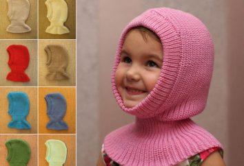 Master class: capacete chapéu para a menina no inverno