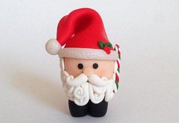 Jak wyrzeźbić z plasteliny Mikołaj ze swoim dzieckiem?
