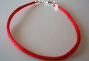 Kabbalah: o fio vermelho é um amuleto protetor do olho do mal e espíritos malignos