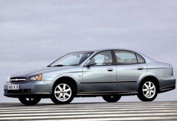 """""""Chevrolet Evanda"""": opis i dane techniczne pojazdów"""