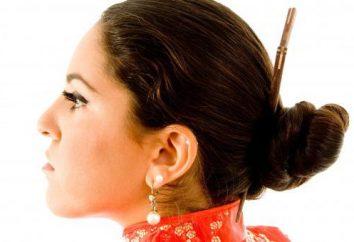 peinados japoneses – nuevo, elegante, de moda