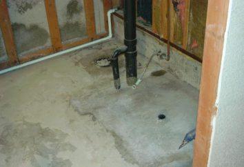Wie machen die Böden im Bad richtig Ihre Hände warm? Wie einen warmen Betonboden im Bad machen?