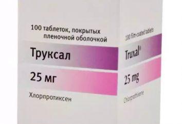 """""""Truksal"""": recenzje lekarzy. """"Truksal"""": instrukcje użycia, efekty uboczne"""