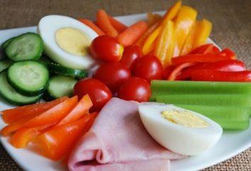 aliments compatibles à séparer les aliments, en particulier des repas sains