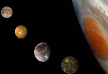 Calisto. Satélite grupo de Galileo y sus vecinos celestes