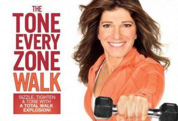 caminhada rápida com Leslie Sansone: comentários perderam peso