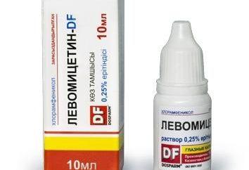 """Medicina """"cloranfenicol"""" (gotas para los ojos): instrucciones de uso, indicaciones y contraindicaciones"""