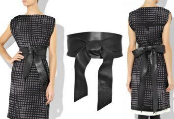 Hacer una cinta elegante y original. ¿Cómo hacer un cinturón con las manos