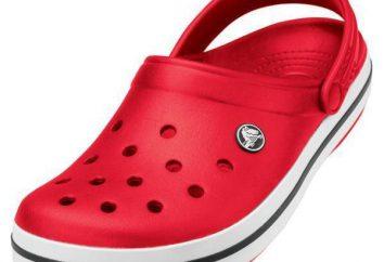 Crocs Schuhe: Bewertungen der Eigentümer, und Orthopäden. Beschreibung dimensionales Gitter