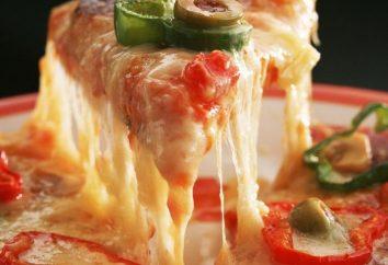 Pizza einfach: Rezept und Kochen Geheimnisse
