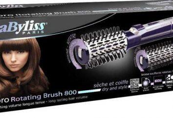 Sèche-linge Brosse Babyliss AS550E: commentaires, spécifications, instructions