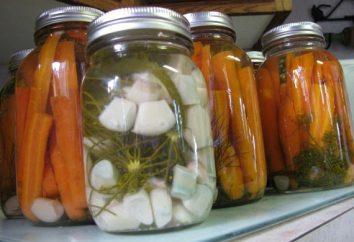 Hausgemachtes: Karotten, gebeizt für den Winter