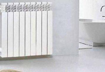 Dimensions radiateurs de chauffage bimétalliques. Radiateurs: hauteur et la longueur