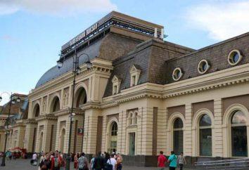 Stazione Paveletsky: Stazione di schema, di parcheggio, di viaggio