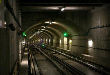 """La stazione della metropolitana """"Piazza Lenin""""."""