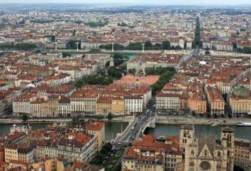 Lyons, Francja. Atrakcje miasta nad brzegiem Rhone