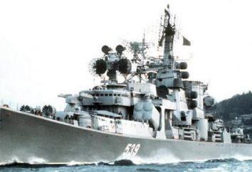 Grand navire anti-sous-marin « Kerch »: description, histoire et faits intéressants