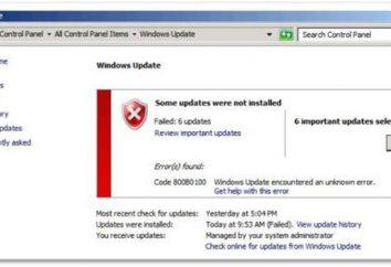 Nie można skonfigurować Windows Update – co robić? Instrukcje, wskazówki