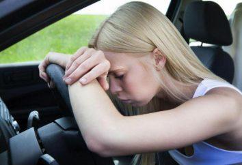 Tylko 1 godzinę i brak snu podwaja ryzyko wypadku samochodowym