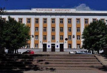 Twer State Technical University: recenzje opis, Wydział i programowe