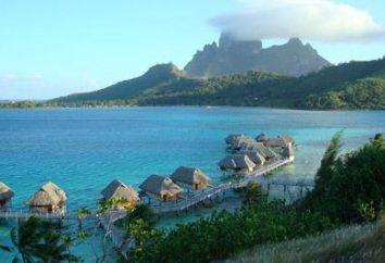 Die ganze Schönheit der Welt, wo es Bora Bora
