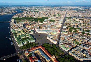 W Petersburgu, jakiej wysokości? Petersburg: geografia, opis terenu
